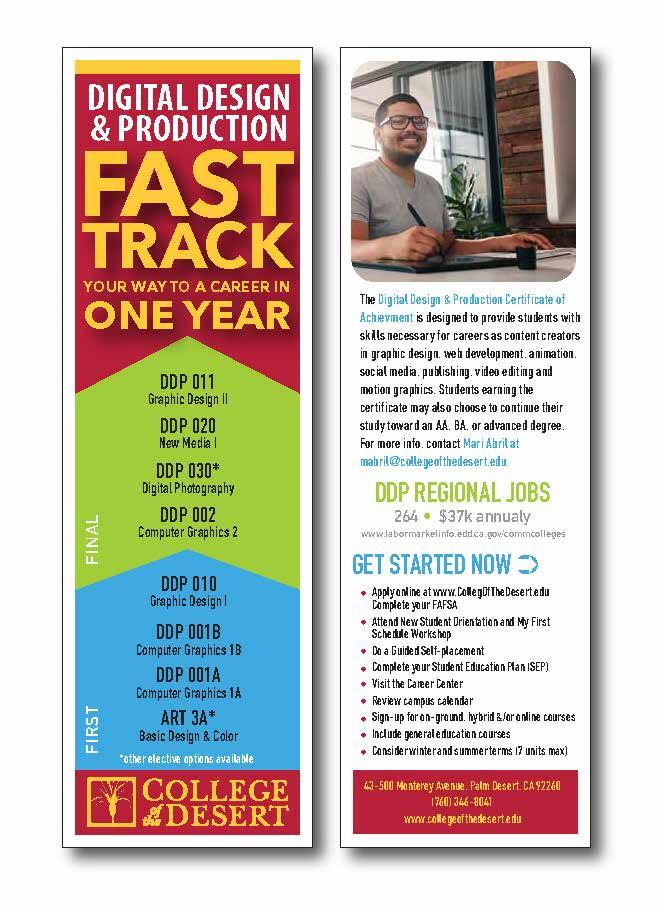 DDP Fast Track Certificate Bookmark