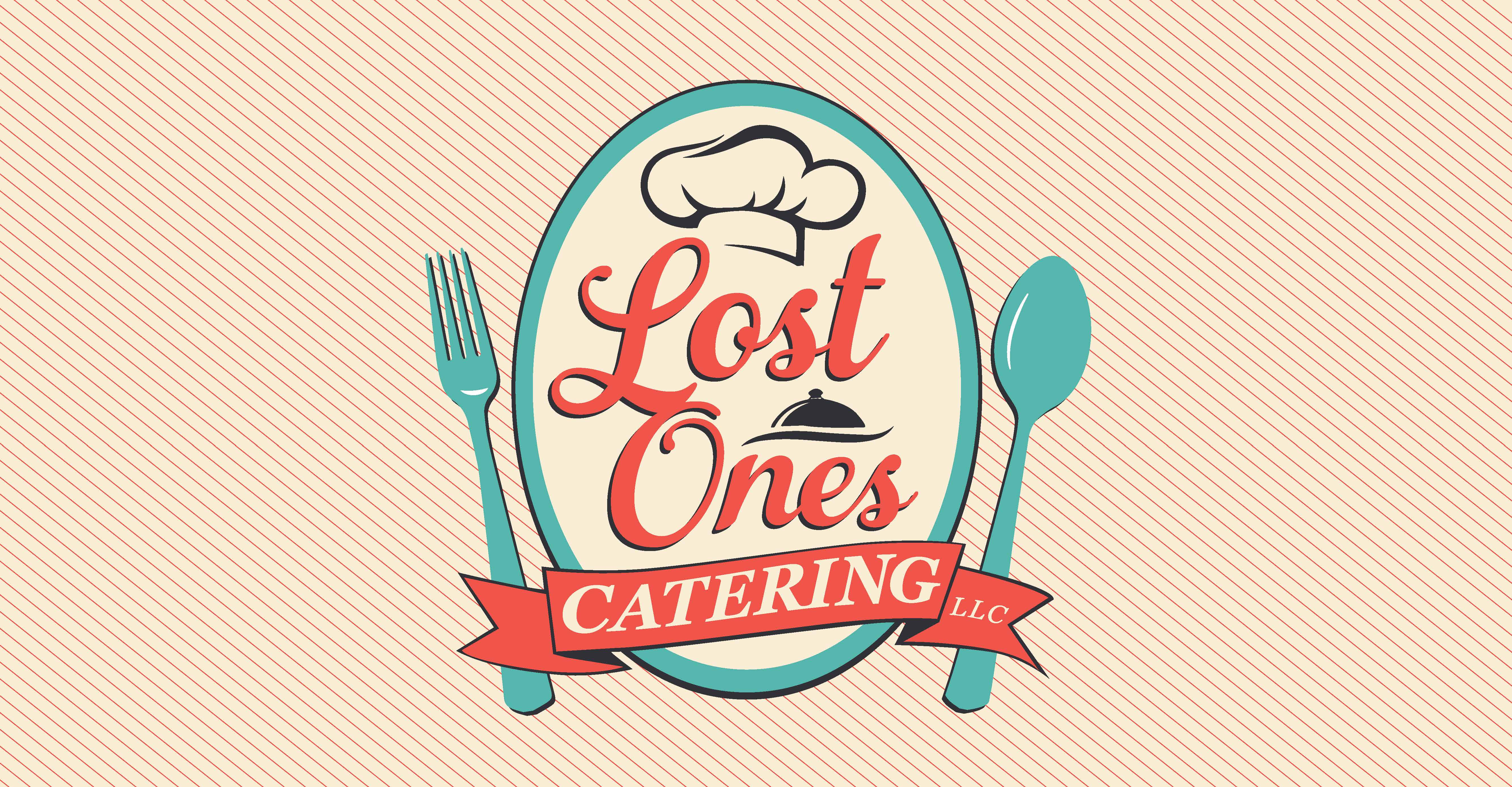 Lost Ones Catering business card