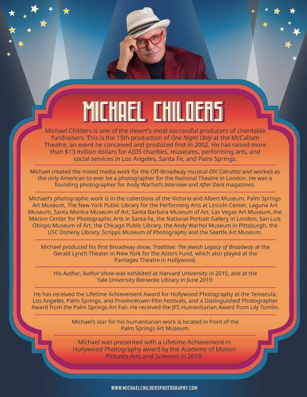 Michael Childers Bio