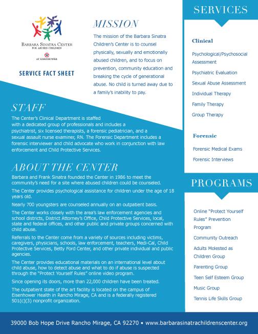 BSCC Fact Sheet