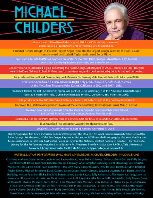 Michael Childers' Bio
